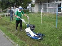 快適に草を刈ります