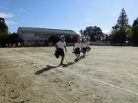 1年生徒競走