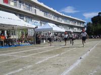 2年生徒競走