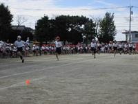 5年生徒競走